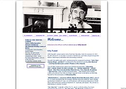 Willy Russell website: Designed by Remarkable Emphasis